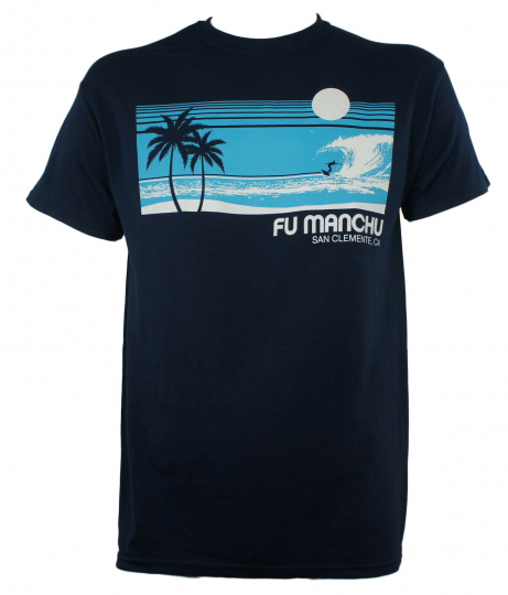 Authentic FU MANCHU Band Surf San Clemente T-Shirt S M L XL Stoner Rock NEW