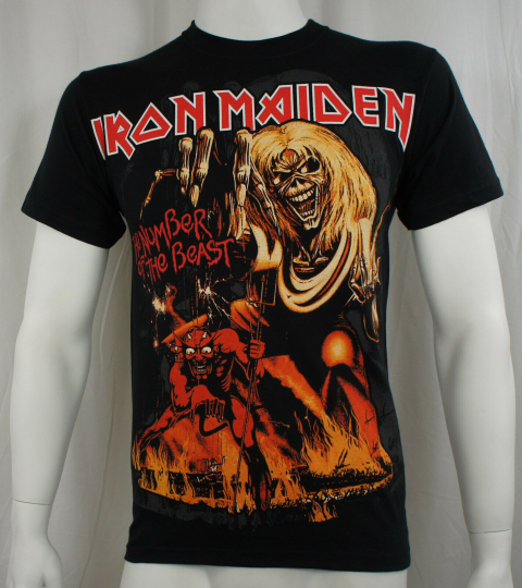 Authentic IRON MAIDEN 666 Number of The Beast Eddie T-Shirt S M L XL XXL NEW