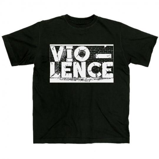 Authentic VIO-LENCE Band Logo Thrash Metal T-Shirt S M L XL 2XL NEW
