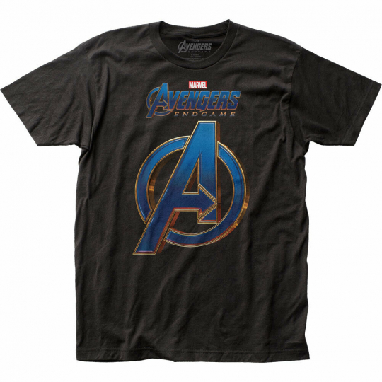 Avengers: Endgame Logo Fitted Jersey T-Shirt