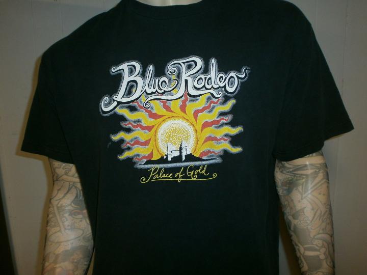 BLUE RODEO CONCERT T SHIRT Palace Of Gold Tour vtg No Depression Roots Rock