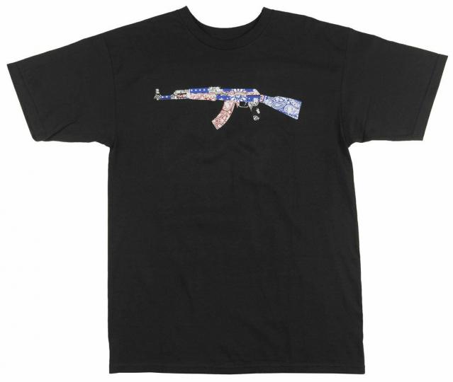 BLVCK SCVLE Banded Abtomat T-Shirt Streetwear Black