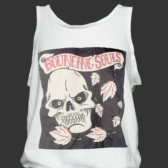 BOUNCING SOULS HARDCORE PUNK ROCK T-SHIRT VEST TOP nofx bad religion S-2XL
