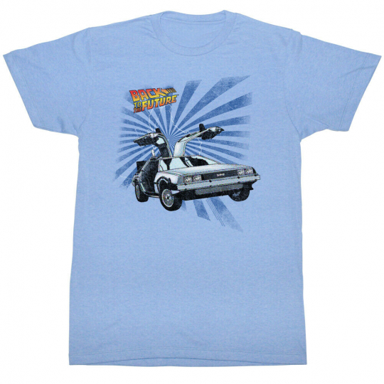 Back To The Future Movie Comical Adult T-Shirt Tee