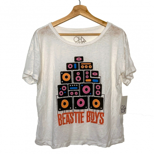 Beastie Boys Boom Boxes Boxy T-shirt by Chaser 90's Hip Hop Band tee