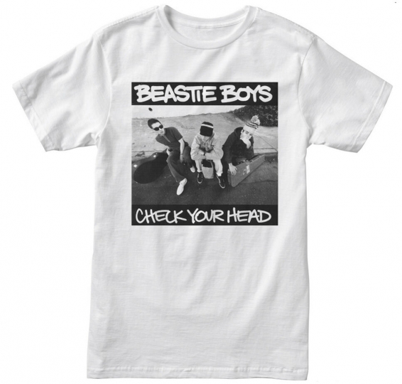Beastie Boys Check Your Head Hip Hop Mens T-Shirt  NEW! S M L XL 2XL 3XL 4XL 5XL