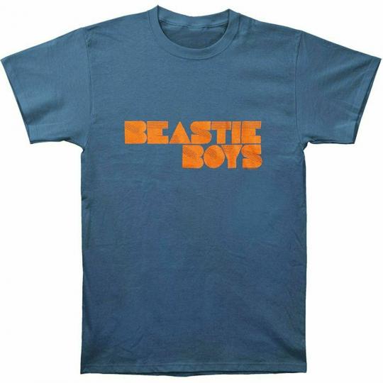 Beastie Boys Fader Logo M, L, XL, 2XL Indigo T-Shirt