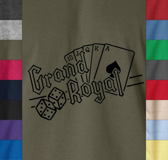Beastie Boys GRAND ROYAL T-Shirt AD Rock MCA Run DMC - 100% Ringspun Cotton Tee