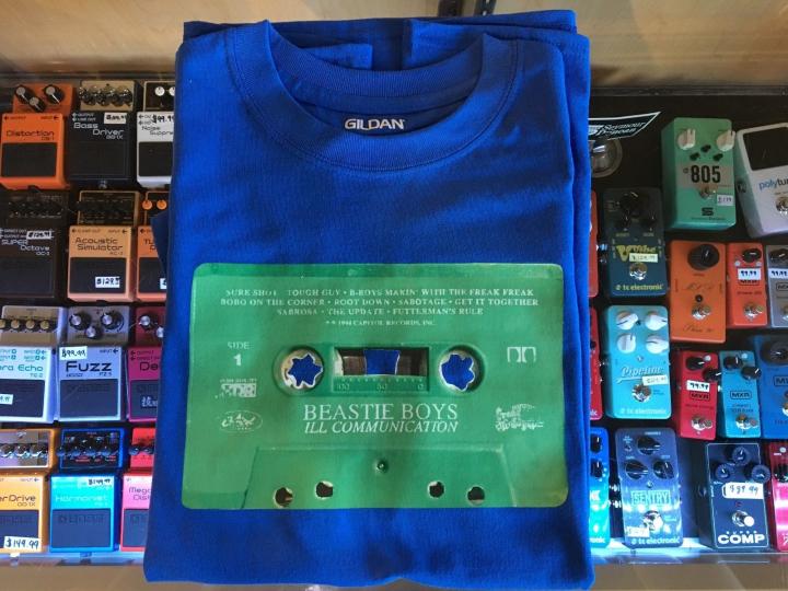 Beastie Boys Ill Communication Cassette T-Shirt