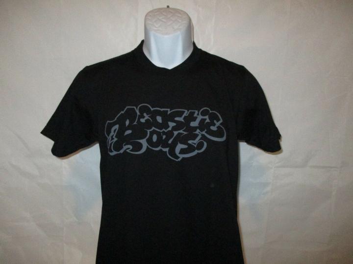 Beastie Boys Logo Black Band T-Shirt - Adult Sizes Small & Large  NEW
