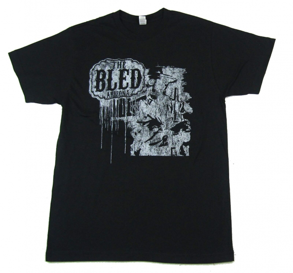 Bled Arizona Skeleton Black T Shirt New Official Band Merch
