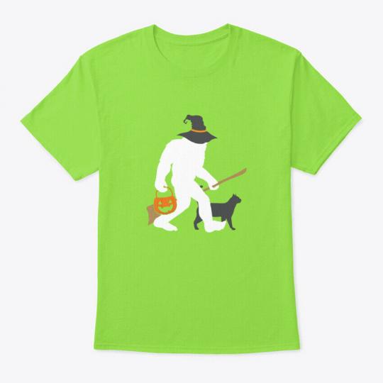 Boo Crew Bigfoot Halloween Witch Pun Sa Hanes Tagless Tee T-Shirt