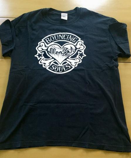 Bouncing Souls NYC Broken Heart Concert T-shirt XL Punk, Rock