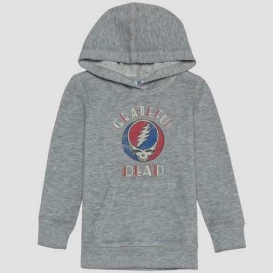 Boy's Junk Food Toddler Grateful Dead Concert Hooded Sweatshirt