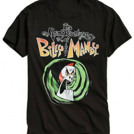 CARTOON NETWORK THE GRIM ADVENTURES OF BILLY AND MANDY T-SHIRT MENS CARTOON TEE