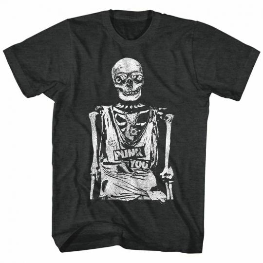 CBGB Punk You Black Heather Adult T-Shirt
