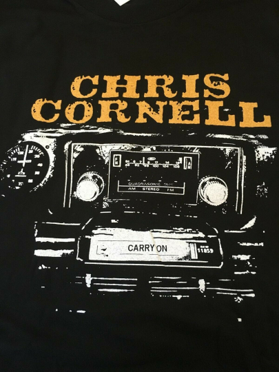 CHRIS CORNELL - Carry On North American 2007 Tour T-Shirt --MEDIUM