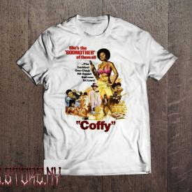 COFFY T shirt  Classic Movie Retro Style