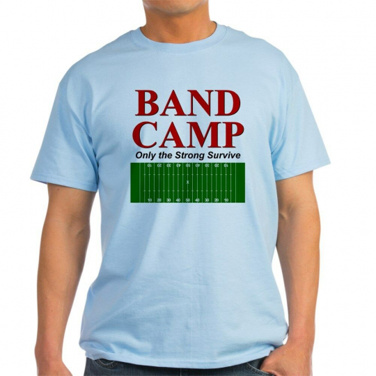 CafePress Band Camp Only The Strong S Light T Shirt Light T-Shirt (277903433)