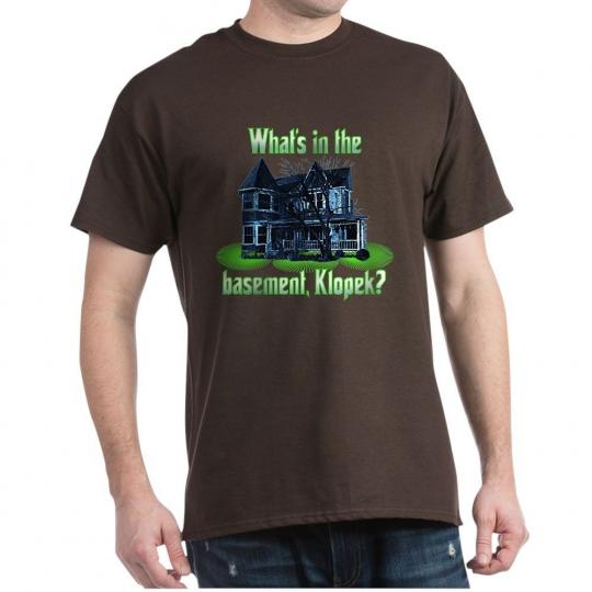 CafePress The Burbs Basement Dark T Shirt 100% Cotton T-Shirt (358873847)