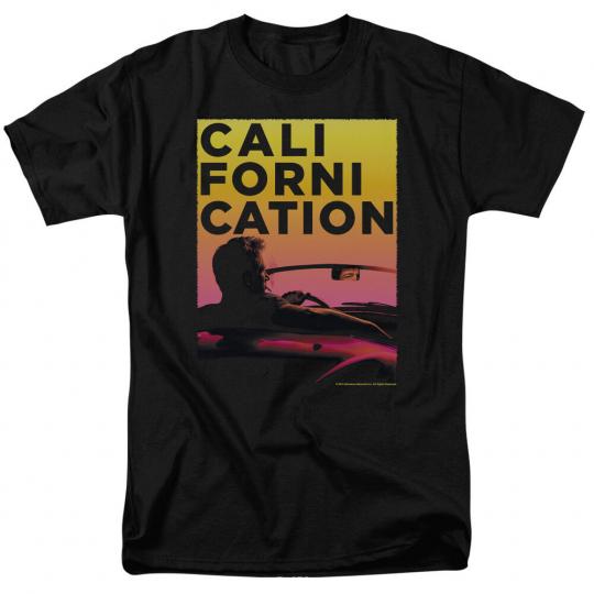 Californication TV Show SUNSET RIDE Logo Licensed Adult T-Shirt All Sizes