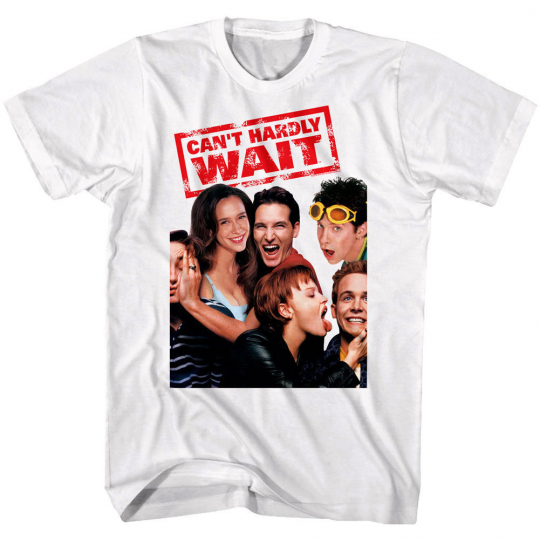 Can't Hardly Wait Movie Poster Men's T Shirt Jennifer Love Hewitt Seth Green Top