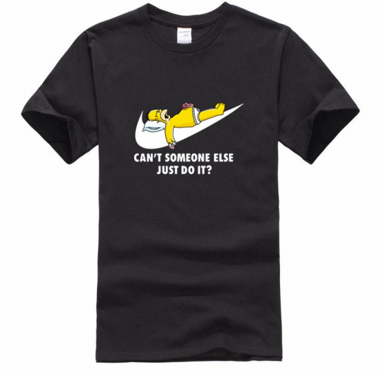 Can't Someone Else Just Do it? - Novelty T-Shirt - Homer Simpson