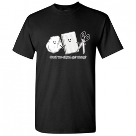 Can't We Just Get Along Sarcastic Humor Graphic Cool Gift Funny Novelty TShirts