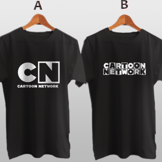 Cartoon Network Channel TV Network New Cotton T-Shirt