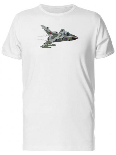 Cartoon Of Airfighter Men's Tee -Image by Shutterstock