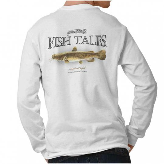 Catfish Fishing Shirt Outdoor Sporting Good Gill McFinn Gift Long Sleeve T Shirt