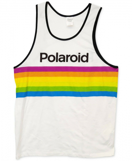 Changes Polaroid Men's Printed Tank Top Size MED NWT