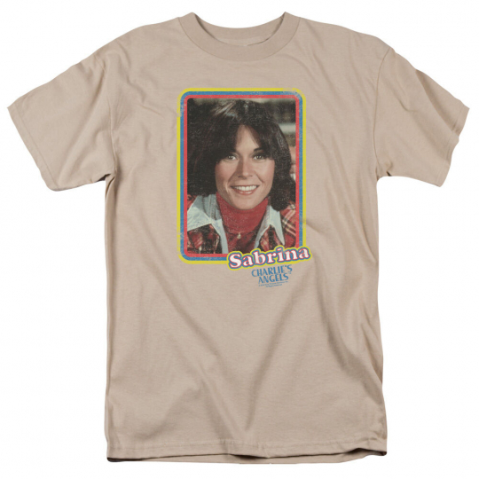 Charlie's Angels TV Show SABRINA PORTRAIT Licensed Adult T-Shirt All Sizes
