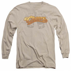 Cheers TV Show BEER MUGS Licensed Adult Long Sleeve T-Shirt S-3XL