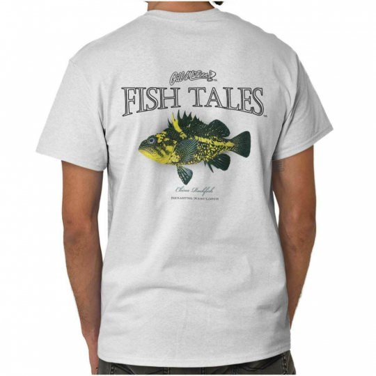 China Rockfish Fish Fishing Shirt | Gill McFinn Sporting Good T Shirt