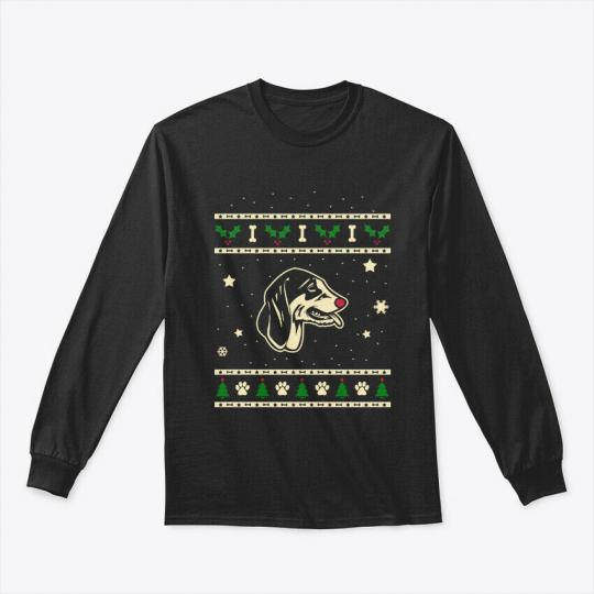 Christmas Francais Blanc Et Noirs Gift Gildan Long Sleeve Tee T-Shirt