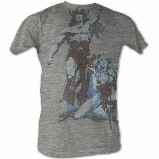 Conan The Barbarian Vintage Gray T-Shirt