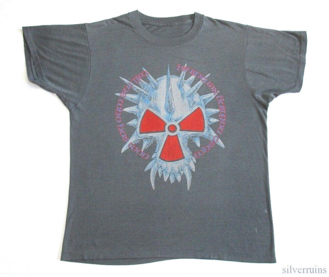 Corrosion Of Conformity Vintage T Shirt 1980's Animosity Tour Concert Holier M