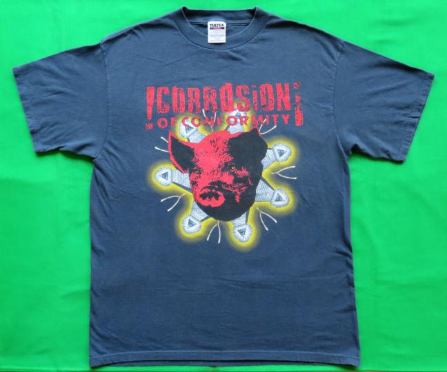 Corrosion Of Conformity Vintage T Shirt 1997 Wiseblood Concert Tour Dates XL