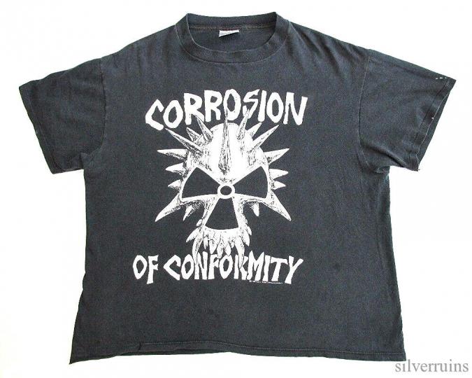 Corrosion Of Conformity Vintage T Shirt 90's 1990's Concert Tour Blind Bullet