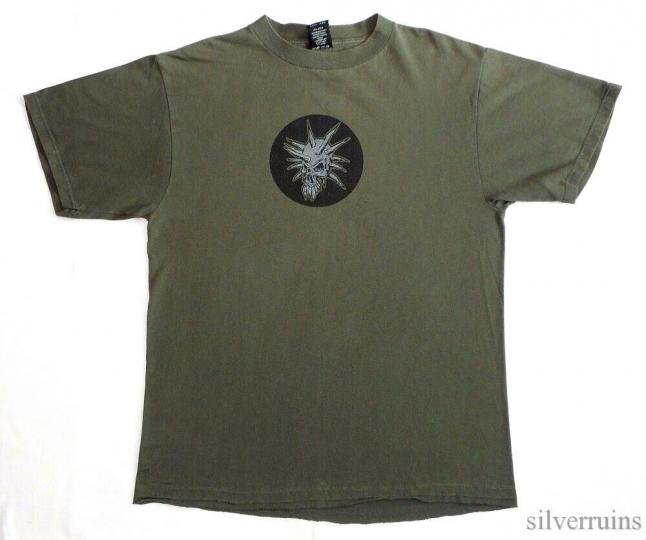 Corrosion Of Conformity Vintage T Shirt 90's 1996 Wiseblood Tour Concert L Olive