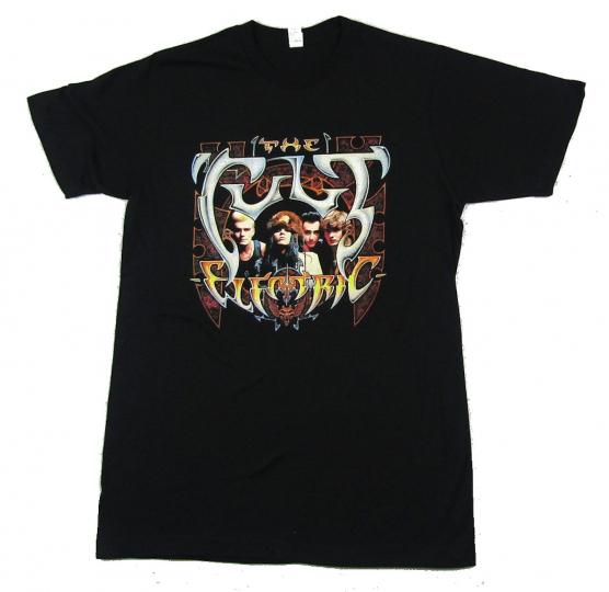 Cult Electric Black T Shirt New Official Band Merch Album Art