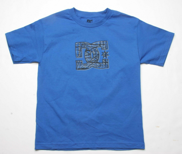 DC Shoes Boys Based Tee (L) Royal Blue ADBZ000007