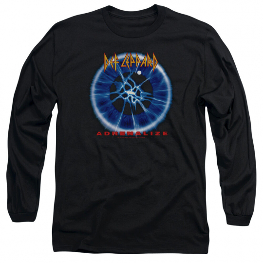 DEF LEPPARD ADRENALIZE Licensed Men's Long Sleeve Band Tee Shirt SM-2XL