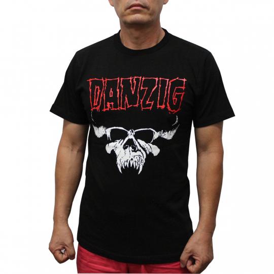 Danzig Heavy Metal Band T-Shirt Red Logo