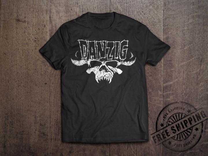 Danzig Punk Band Graphic T-Shirt Rock Band Size S-6XL