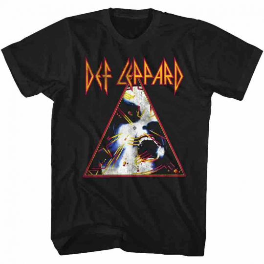 Def Leppard Nobghyst Black Adult T-Shirt