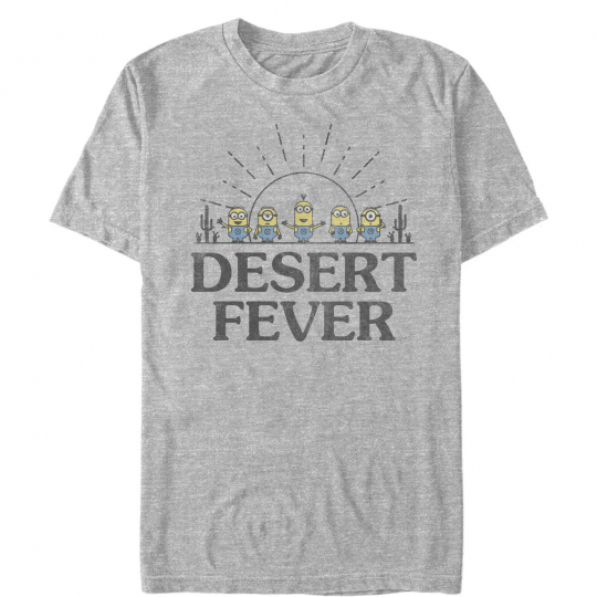 Despicable Me Minions Desert Fever Mens Graphic T Shirt