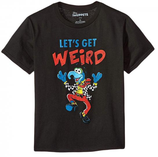 Disney Muppets Gonzo Gettin' Weird Boy's T-Shirt - Comedy music, Adventure Movie