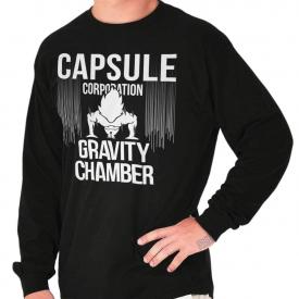 Dragon Capsule Anime TV Show Nerdy Geeky Gift Long Sleeve T Shirts Tees Tshirts